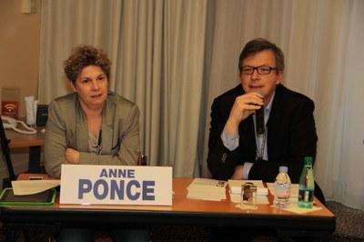 Anne Ponce et Martin Féron