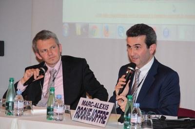 Julien de Nomazy et Marc-Alexis Roquejoffre