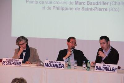 Philippine de Saint Pierre et Marc Baudriller
