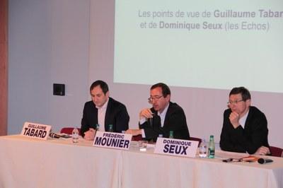 Guillaume Tabard et Dominique Seux