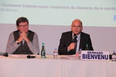 Didier Robiliard et Bernard Bienvenu
