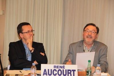 Vincent David et P. René Aucourt
