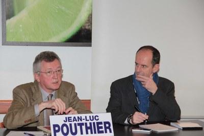 Jean-Luc Pouthier et Éric Paiiler