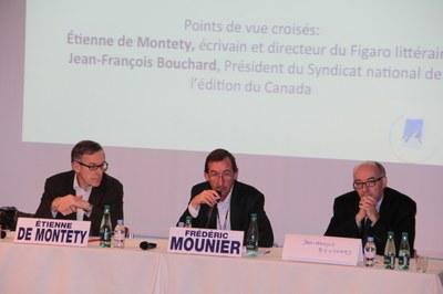 Étienne de Montety et Jean-François Bouchard