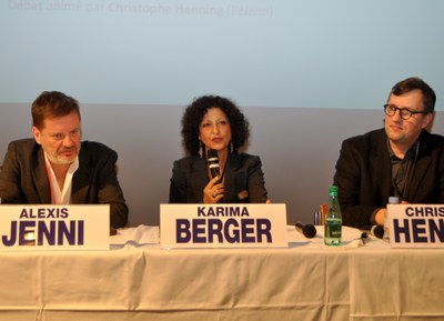 004 Conférence ouverture A Jenni K Berger Ch Henning