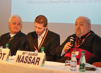038 Conférence 4 Mgr Boivineau S Pruvot Mgr Nassar
