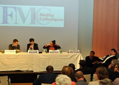 045 Grand débat Frère Benoît JC Parisot de Bayard R Bakkouch FX Maigre