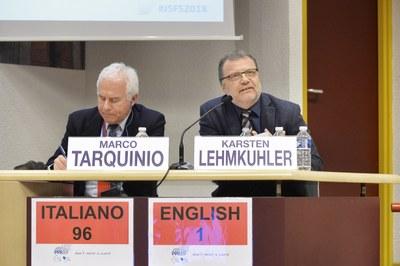 """Table ronde """"Les visages de la vérité"""" Marco Tarquinio et Karsten Lehmkühler"""