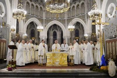 Messe dans la Basilique de l'Immaculée-Conception célébrée par le Cardinal Pietro Parolin