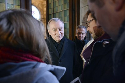 Son Eminence le Cardinal Pietro Parolin